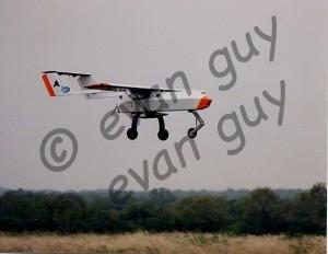 Heavy Fuel Engine UAV Flight