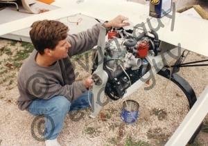 Prototype Heavy Fuel Engine
