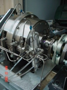 Prototype Hydrogen Engine Injection