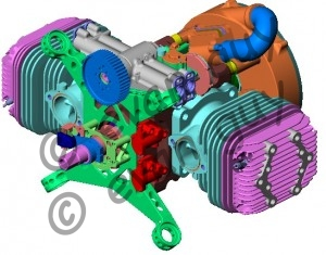 Heavy Fuel Engine Design